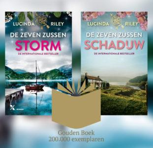 Twee gouden boeken voor Lucinda Riley
